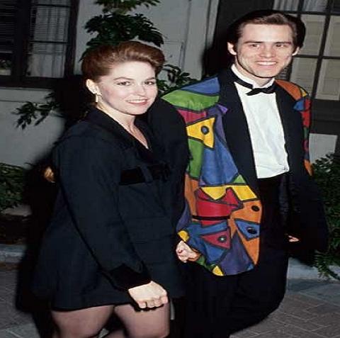 Melissa Womer and Jim Carrey