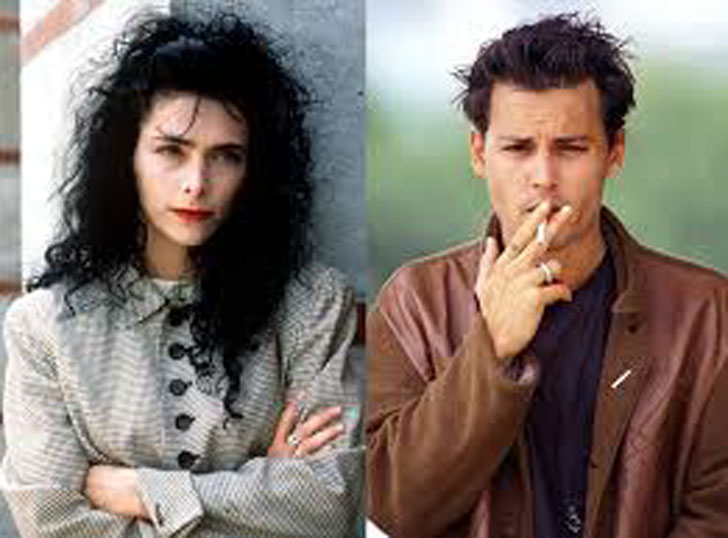 Lori Anne Allison and Johnny Depp