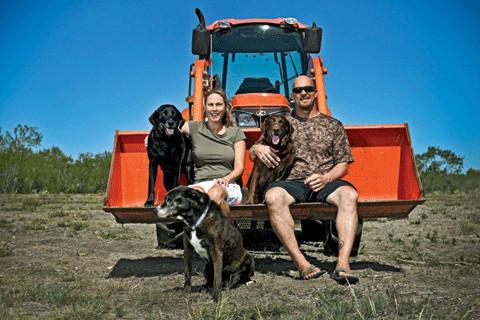 Steve Austin and Kristin Austin
