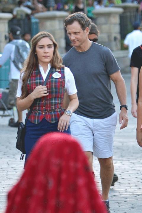 Tony Goldwyn with his daughter Tess Frances Goldwyn