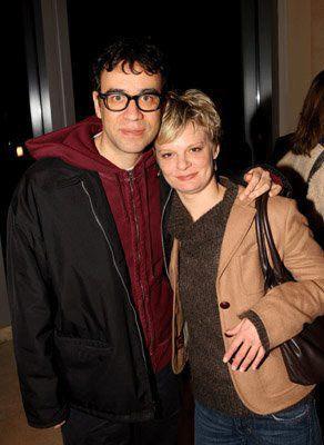 Martha Plimpton with Fred Armisen