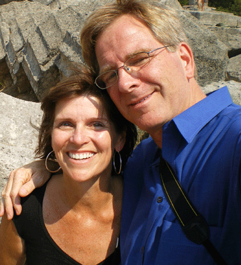 Rick Steves and Anne Steves