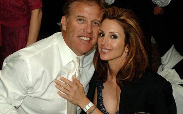 Suzy Kolber with her husband Eric Brady