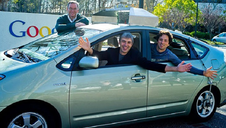 Toyota Prius Google Larry
