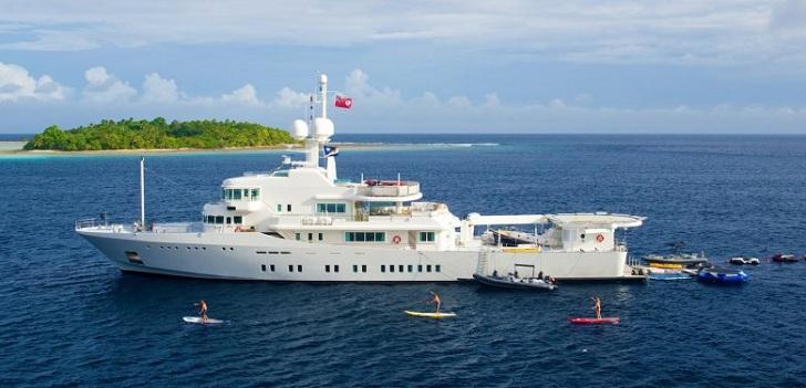 Senses Yacht Larry Page
