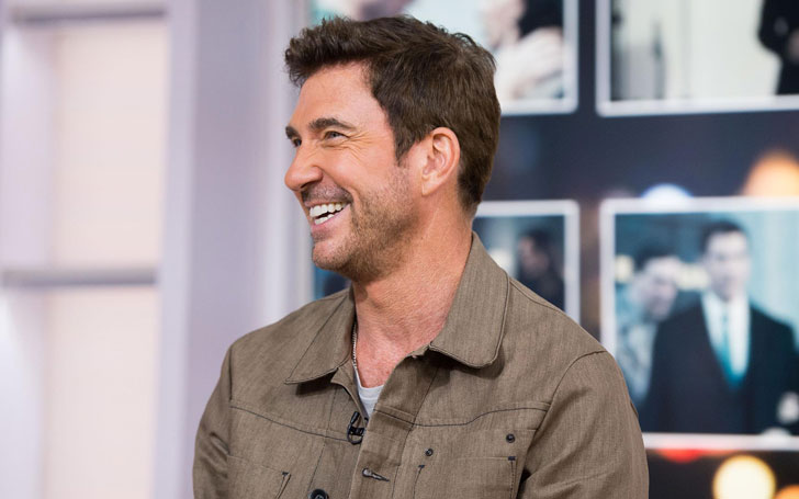 After divorcing Shiva Rose, who is Dylan McDermott married to?