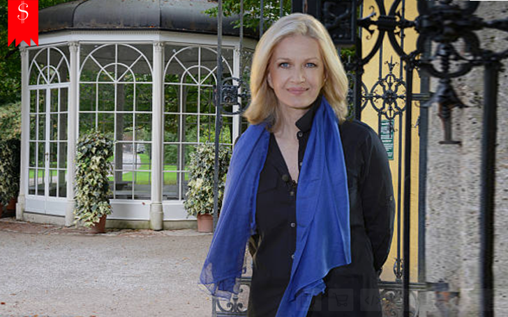 Diane Sawyer is filthy rich. Her net worth is huge and her salary is more than $22 million annually.