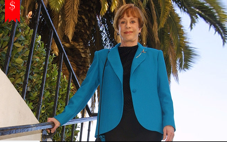Brian Miller' Wife Carol Burnett's Net Worth; Detail about her Salary, House, Earnings, and Lifestyle