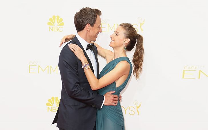 Seth Meyers is Living Happily with his Wife Alexi Ashe; Know about their Married Life and Children