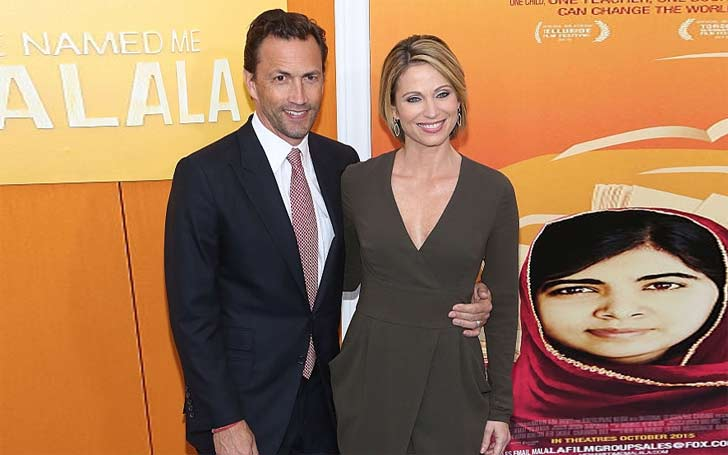 Cancer Survivor, Amy Robach Married to Andrew Shue and Living Happily Together with their Children