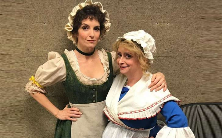 Tina Fey and Rachel Dratch back to SNL for Super Bowl Sketch