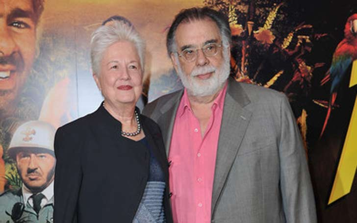 Francis Ford Coppola and wife Eleanor are still very much in love, even after 53 years of married life.