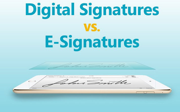 What Is Digital Signature? What is the Difference between Digital Signature and E-Signature?