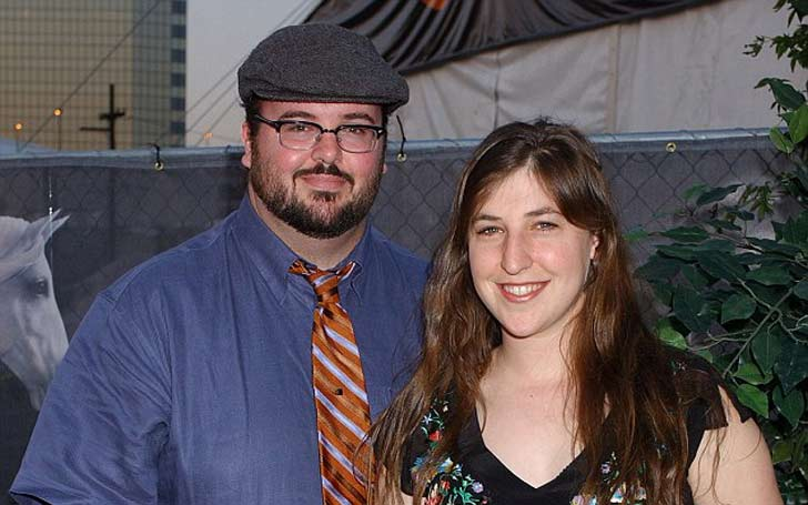 Why did Mayim Bialik and her husband, Michael Stone get divorced?