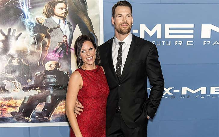 Daniel Cudmore and his wife, Stephanie expecting a baby, after four years of married life?