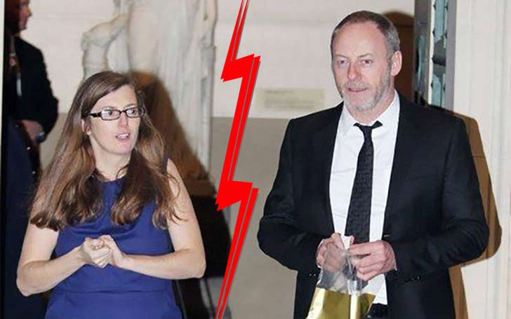 Liam Cunningham and his wife, Colette getting a divorce?