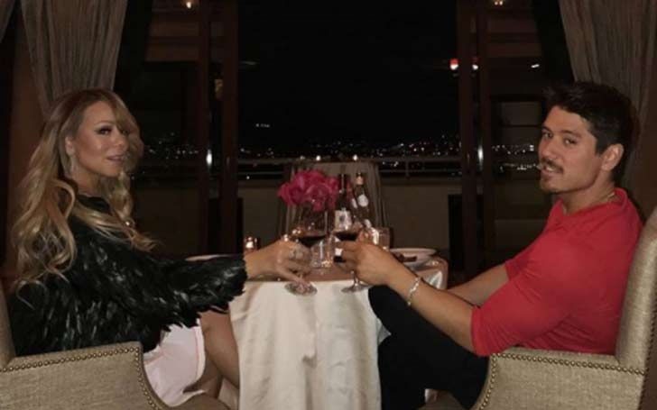 Mariah Carey and Shirtless Boyfriend Bryan Tanaka has Romantic Valentine's Day Together, Detail Here