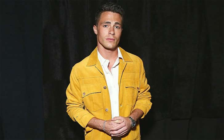 Colton Haynes is in rehab, following his coming out.