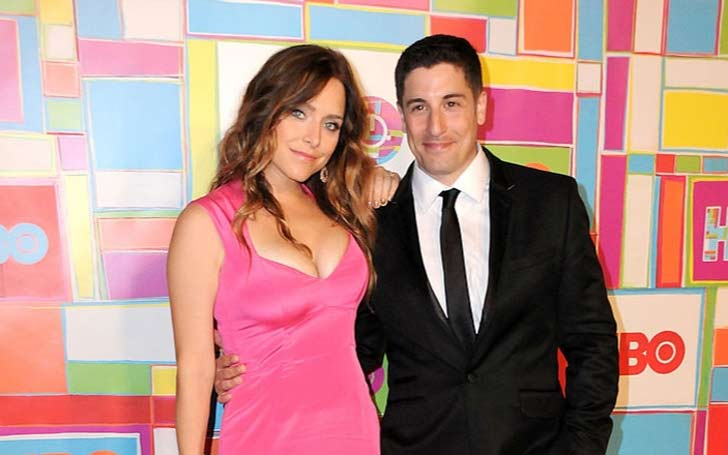 Jenny Mollen and her husband, Jason Biggs, who she's been married to for almost 8 years, sold their new film rights to Cinedigm