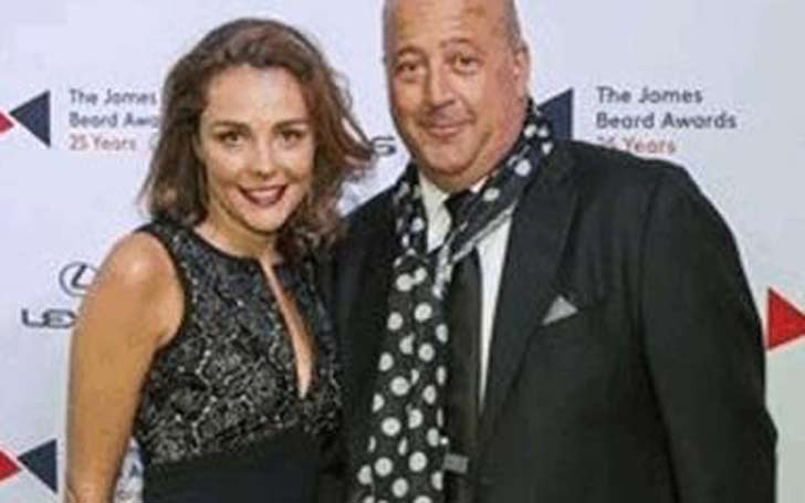 Rishia Haas and Chef Andrew Scott Zimmern, Married in 2002, Both enjoying Married and Culinary Life