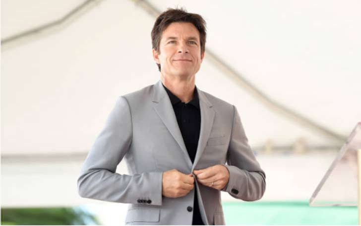Jason Bateman is at the Tribeca Film Festival and a waitress apparently spilled drinks all over him.