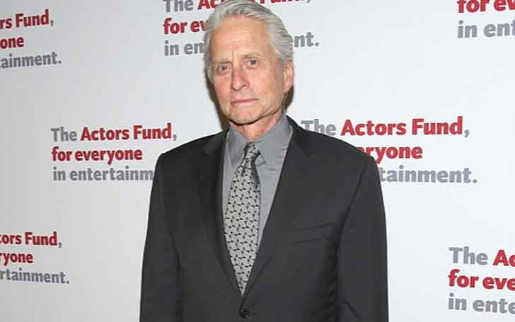 74 Years Old Hollywood Actor Michael Douglas Married Twice; Has Three Children