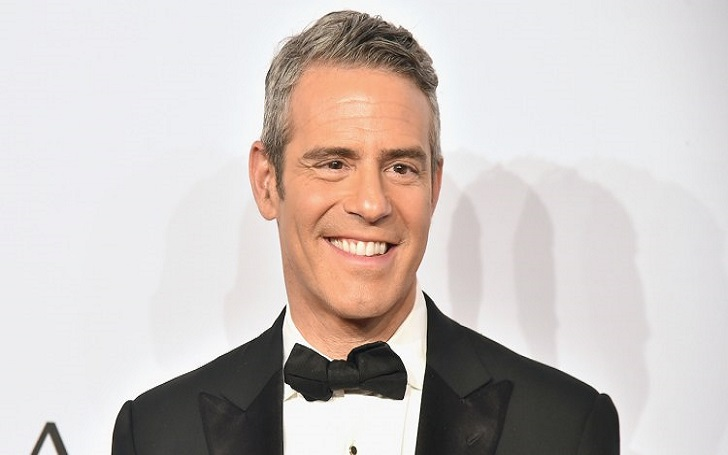"""Andy Cohen """"nothin' left to do but smile smile smile"""" After His Break-Up With Dassuncao"""