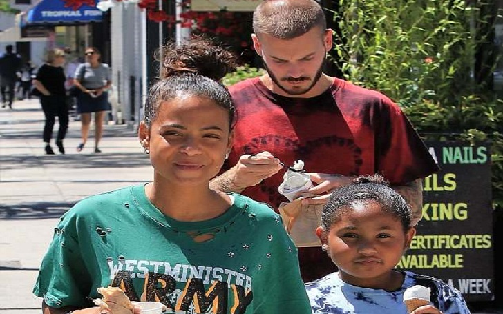 Christina Milian Enjoys Sunny Day Outing With Daughter Violet And Boyfriend Matt Pokora