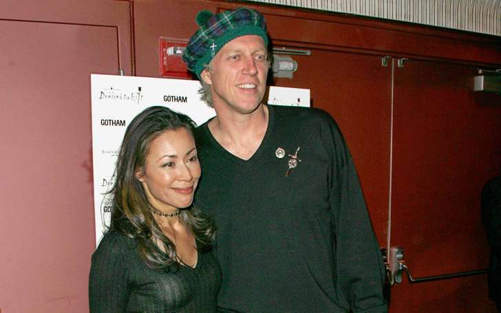 Journalist Ann Curry and husband Brian Ross in a relationship that never ends with two kids.