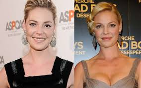Katherine Heigl and Katherine Pine are totally different actress. Don't get Confused
