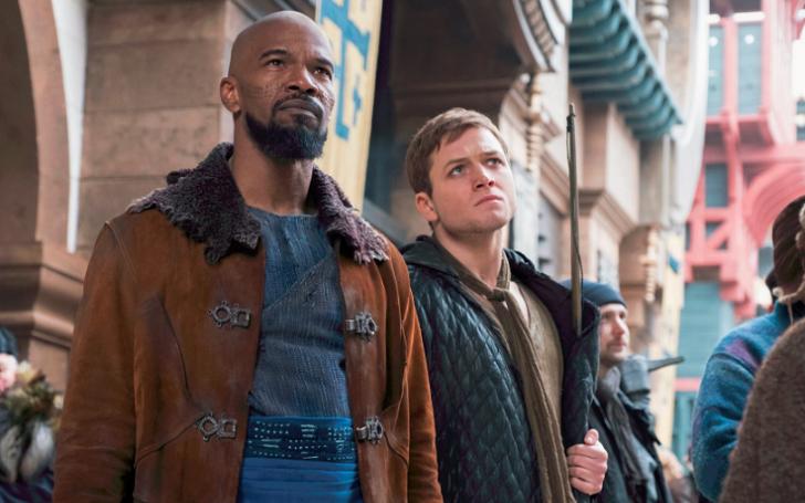 Kingsman actor Taron Egerton and Ben Mendelsohn return to the Big-screen with Robin Hood