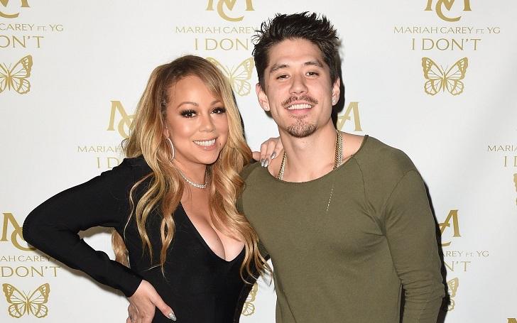 Mariah Carey Valentine Throwback With Boyfriend Bryan Tanaka
