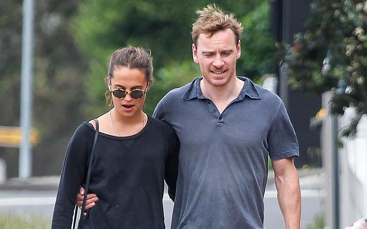 Oscar nominee Michael Fassbender and winner Alicia Vikander private Date Night at Madeo restaurant