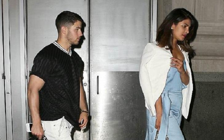 Priyanka Chopra Flaunts Her Cleavage As She Joins Beau Nick Jonas In NYC