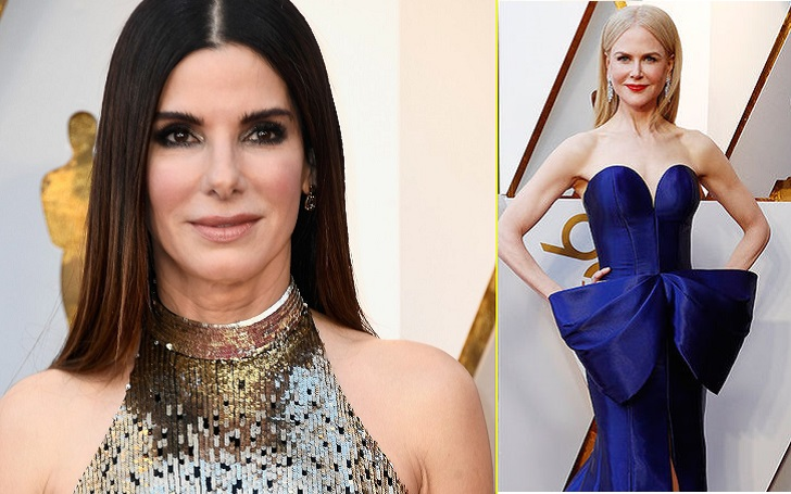 Sandra Bullock And Nicole Kidman Surprising Practical Magic Reunion On 90th Academy Red Carpet