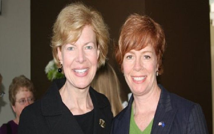 Why did Tammy Baldwin and her partner, Lauren Azar get separated? Is she looking to get married anytime soon?